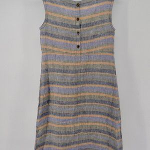 Toad&Co Dresses - Toad & Co Dress XS Sheath Style Linen Knee Length